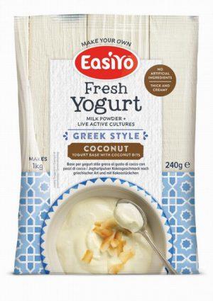 8 Sachets Mega Pack Greek 'n' Coconut Bits Yogurt Base